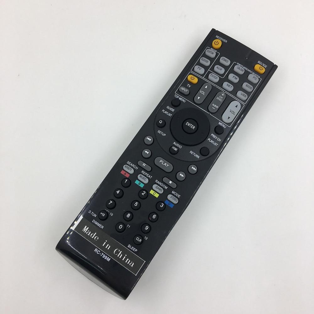 NEW AV Receiver Remote Control For ONKYO HT-S3300 TX-NR807 TX-NR1007 TX-NR3007 receiver