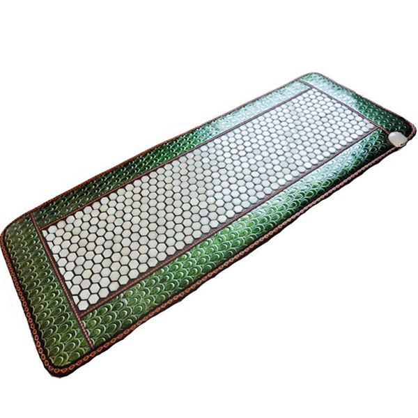 Good Quality! Tourmaline Health Care Mattress Infrared Heating Mat Jade Massage Mattress Size50x150cm,Free Shipping 2017 new heating massage mat heated jade stones cushion tourmaline health products heating sleeping mat size 100 50cm