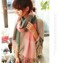 Winter Wool Scarf for Women