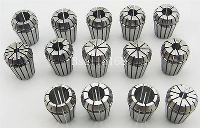 High Precision ER25 collet set 14pcs (3-16mm) CNC collet chuck toolholder useful 15pcs set 2mm 16mm er25 precision spring collet for lathe chuck for cnc milling engraving machine best price