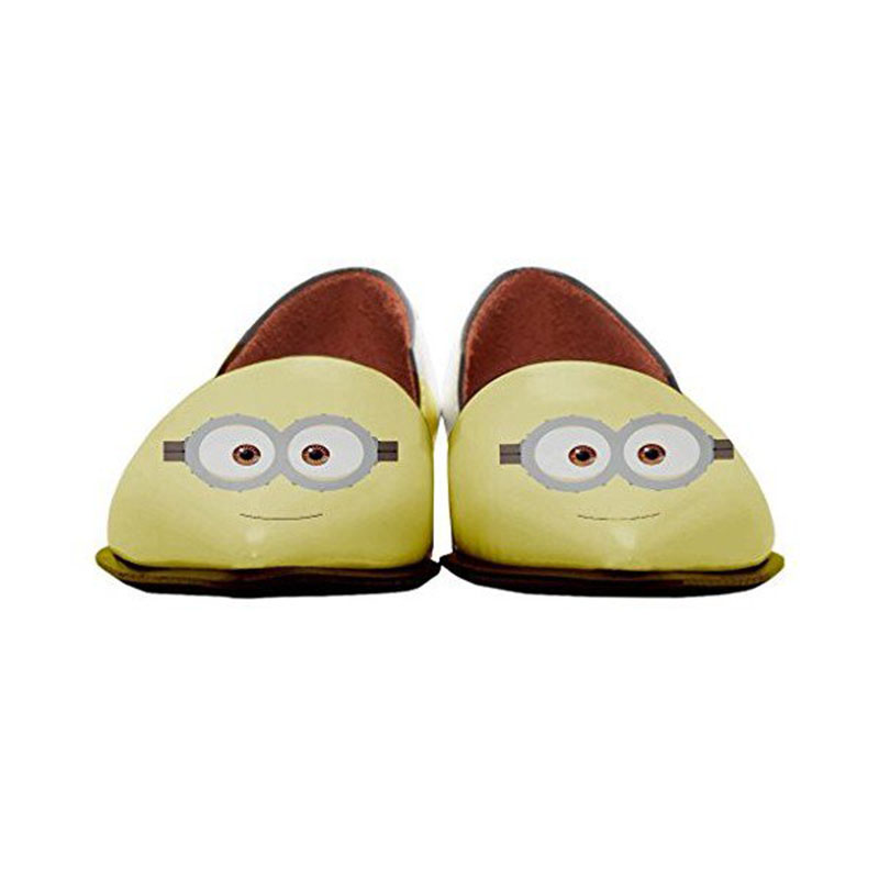 Minions Incomparable Fsj01 Dorsay Appartements Bande Femmes Dessinée Animation Généreux Confortable Fsj on Slip Pointu Bout De Chaussures HrAFqH