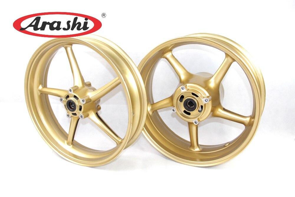 Buy Arashi Motorcycle Front Rear Wheel Rim For Triumph Daytona 675