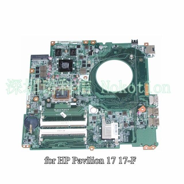 Ноутбук материнская плата для HP Pavilion 17 17-F A10-5745M DAY23AMB6F0 763428-501 763428-001 графика 260 М 2 ГБ гарантия 60 дней