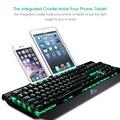 2016 Novo Design Rii K61C Retroiluminado Wired Mechanical Gaming Keyboard com Switches Azul para Professional Gamer Teclado Mecanico