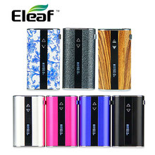 Original 50 W Eleaf IStick Kit Completo W/Pantalla OLED MOD Incorporado 4400 mAh Batería E Cig Mod AJUSTE Roscado EGo/510 Clearomizers/Tanques
