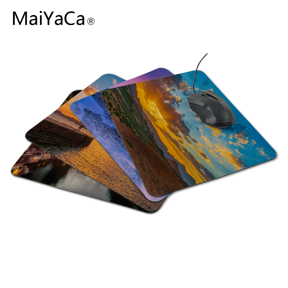 MaiYaCa 2018 Sunset Rubber Mouse Pad Gaming Mousepad Notbook Computer Mouse Pad Cool to Mouse Gamer Free Shipping For Sunset