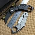 Складной нож DICORIA QM Claw M390 с лезвием из титана для кемпинга  карамбит  карманные ножи  инструменты для выживания на природе  EDC