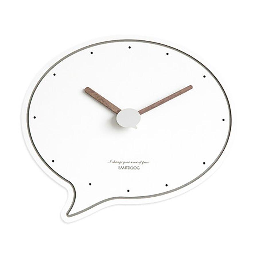 Nordique Art horloge murale muet mode créative horloges murales salon horloges tasse forme Sticker mural chiffre creux 3DBGV66
