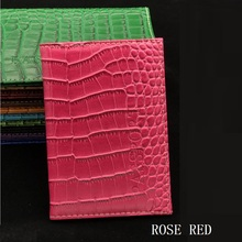 High Quality PU Leather Passport Cover Fashion Alligator Embossing Travel Passport case Men Women  ID Credit Card Holder Wallet high quality pu leather passport cover fashion alligator embossing travel passport case men women id credit card holder wallet