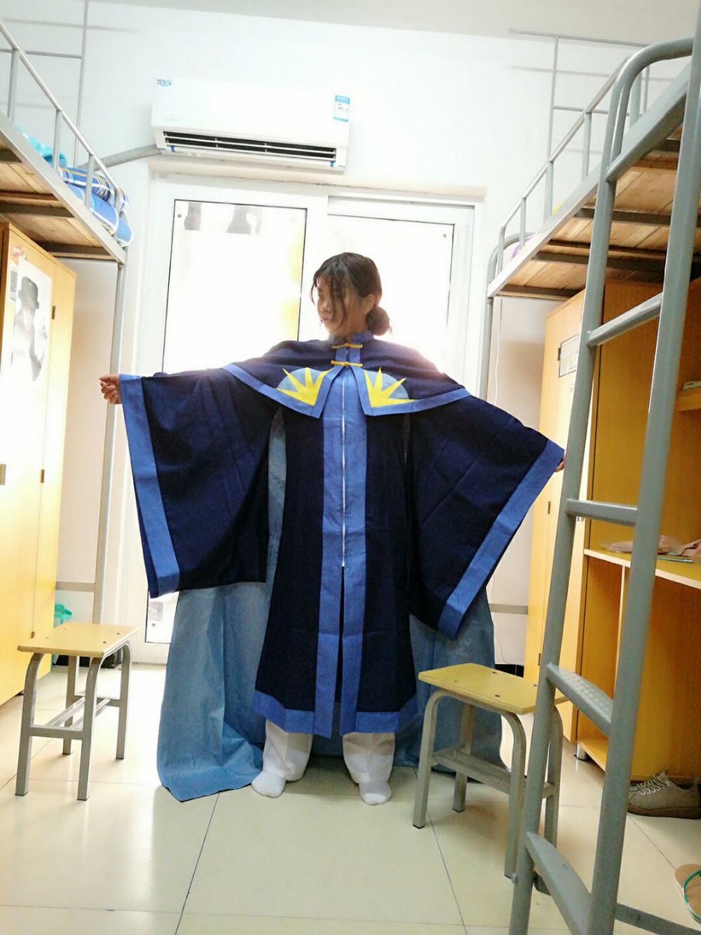 Cardcaptor Sakura Hiragizawa Eriol Gothic Uniform Cosplay Costume Free Shipping