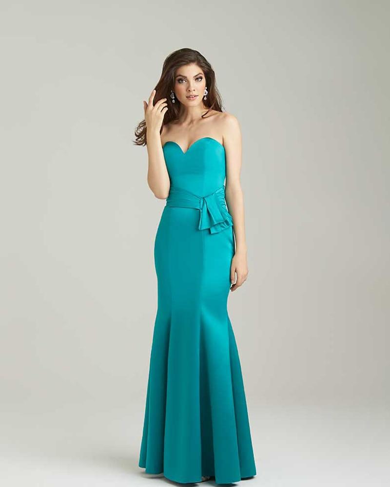 Aliexpress.com : Buy Mermaid Turquoise Bridesmaid Dress 2017 ...