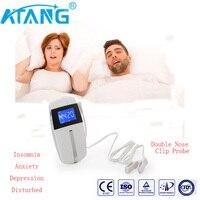 ATANG 2018 New Healthy Sleep Nurse Anti Insomnia Anxiety Depression Disturbed Migraine Aleeping Aid CES Therapy Brain Stimulator