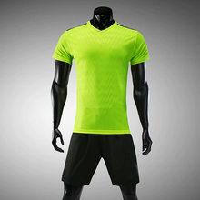 Camisa de futebol de verão-secagem rápida curto-de mangas compridas uniforme  de futebol 4c9c1e0b1bdb5