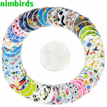 10 PCS Reusable Bamboo Breast Pad Nursing Pads For Mum ,Bamboo Material Inner Washable Waterproof Breastfeeding
