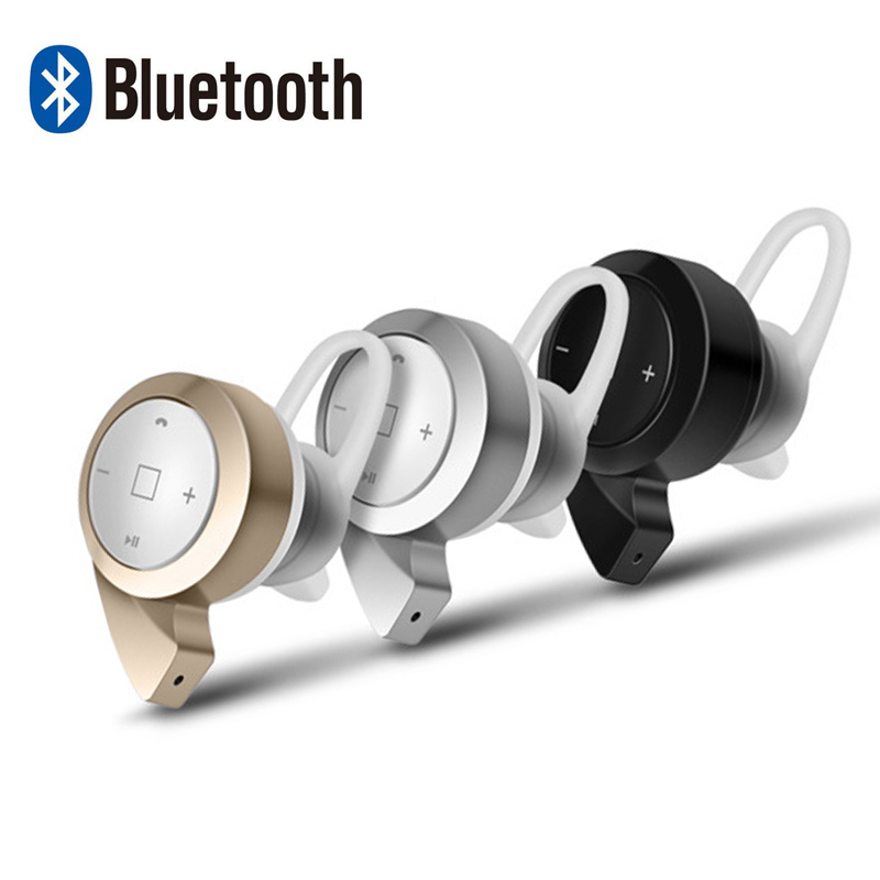 New Wireless Bluetooth Earphones And Mini Headphone V4.0 Handsfree In-ear Music Ear Buds Headset With Microphone For All Phones