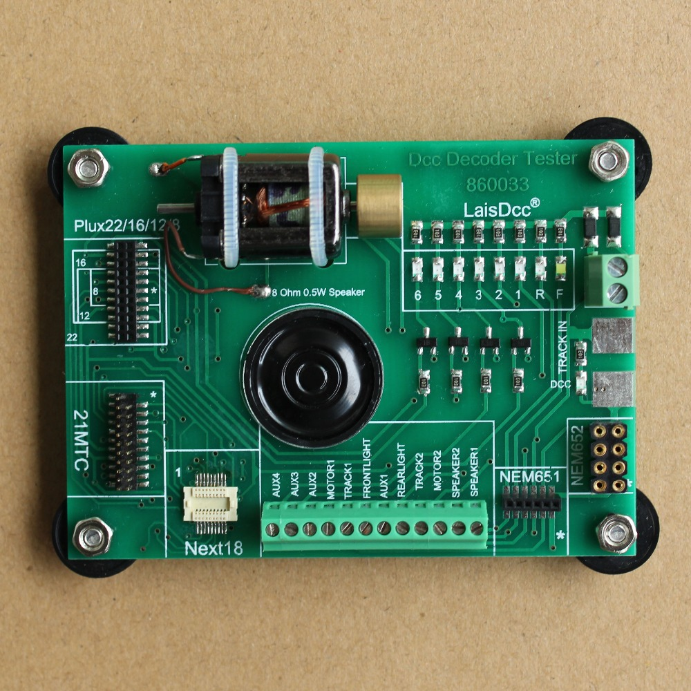 860033 Dcc Decoder Tester Pro for model train and model railway fans/LaisDcc Brand