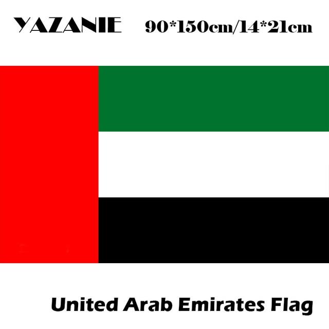 yazanie 90x150cm united arab emirates flags country world custom