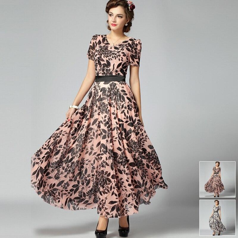 Женские фото в летних платьях