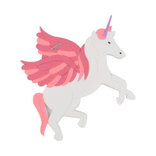 Unicorn Travel Accessories Bagažo žyma Creative Silicone gelio lagamino ID adresas Holder Baggage Boarding Label Tags
