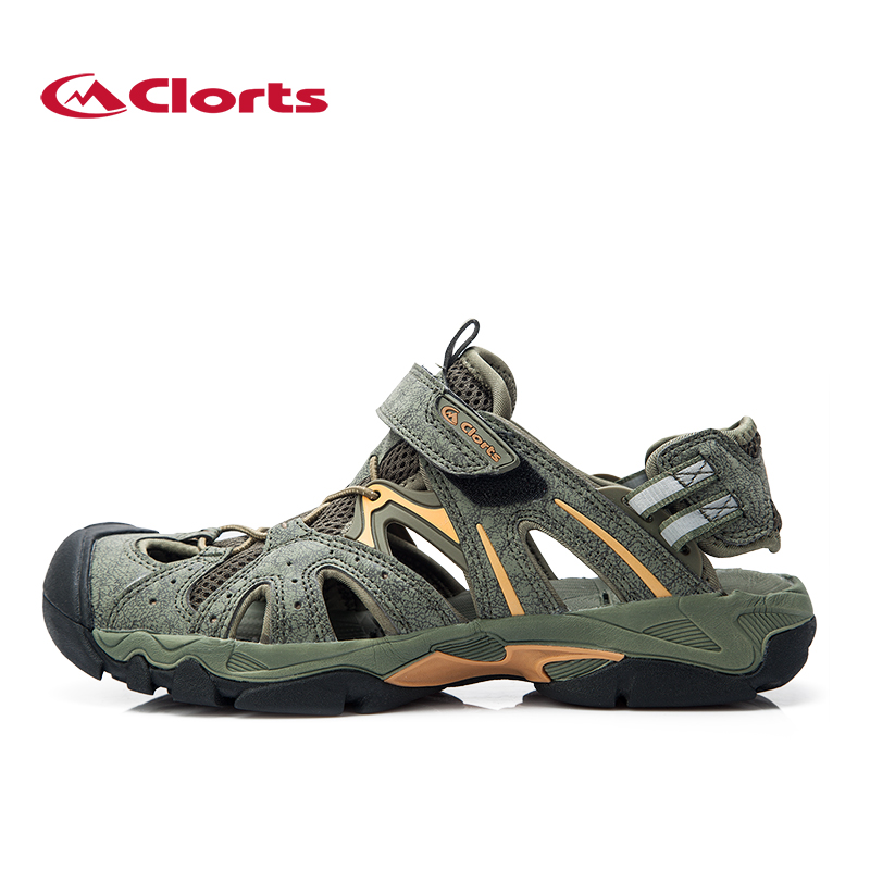 2016 Clorts Men Sandals SD-207B/C Quick-drying Water Shoes Breathable Outdoor Beach Sandals for Men  2017 clorts men s water shoes quick dry lightweight breathable summer sandals for outdoor free shipping 3h021a b