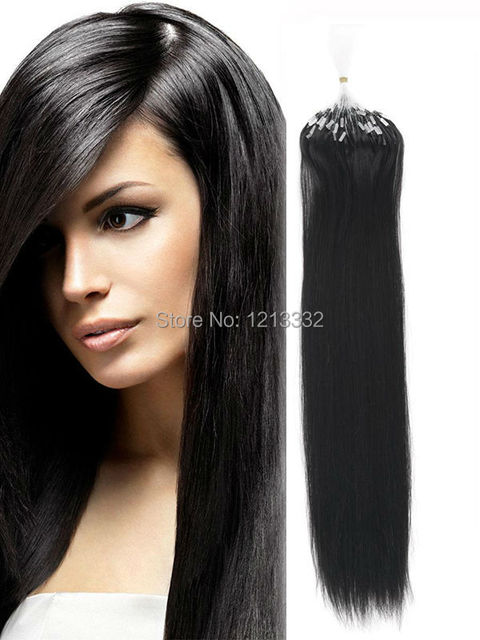 Hot Queen Brazilian Remy Hair Micro Loop Ring Human Hair Extensions
