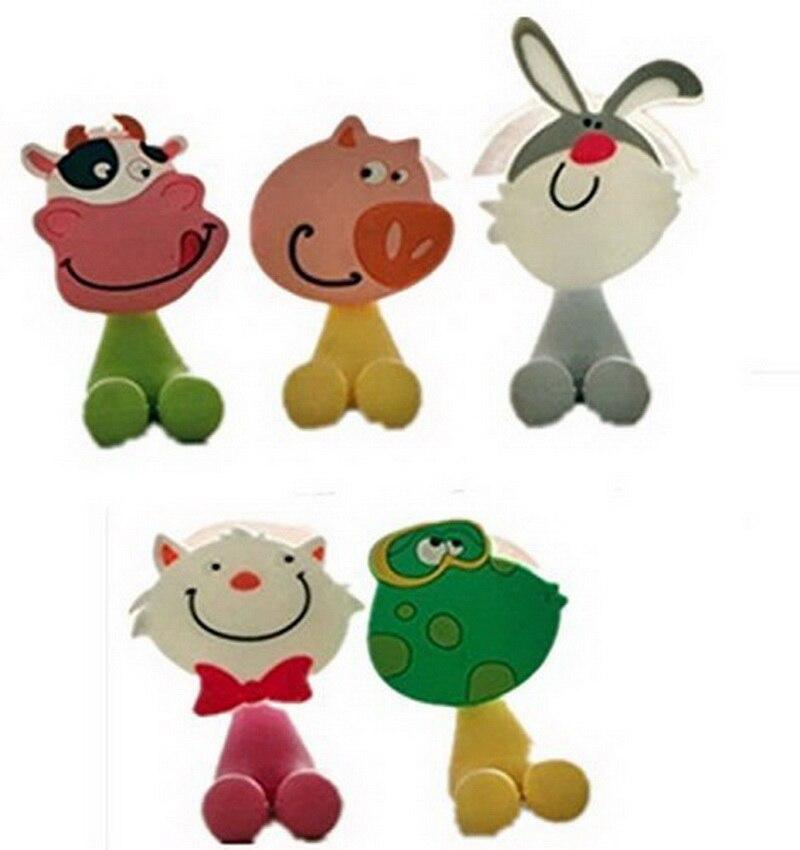 5Pcs set Animal Cute Mini Cartoon Suction Cup Toothbrush Holder Bathroom Accessories China. Compare Prices on Animal Bathroom Accessories  Online Shopping Buy