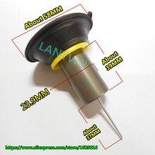 23,9 мм вакуумная диафрагма поршень самокат в сборке мотоцикл карбюраторы для мотоциклов GY6-125/150CC PD24/26J QMI152/157 двигатели автомобиля