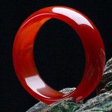 Натуральный красный агат, браслет, красный халцедон, браслет, браслет с нефритом, расширенный браслет, богемное Нефритовое ювелирное изделие для мамы, подарок