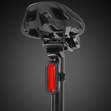 купить USB Rechargeable Bike Taillight LED Bicycle Light Safety Warning Cycling Lamp Tail-lamp Bicycle Light for MTB Road Bikes по цене 543.85 рублей