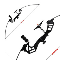 Archery Hunting 30 45Lbs Straight Pull Bow for Right Handed Compound Bow Shooting Game Outdoor Sports