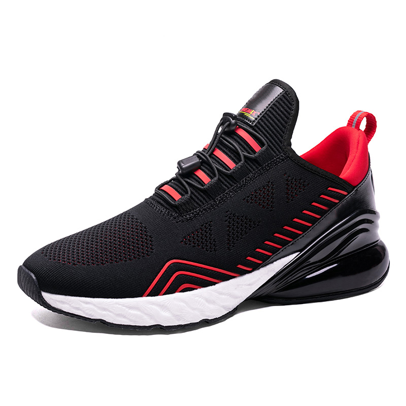 Image 2 - ONEMIX Men Running Shoes Sports Half Air Cushioning Slip On 