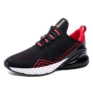 Image 2 - Onemix男性ランニングシューズスポーツハーフ空気クッションスリップ靴運動屋外trainning靴ウォーキングジョギングスニーカー