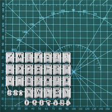 Eastshape 26 Alphabet Dies Number Metal Cutting for Card Making Scrapbooking Embossing Cuts Stencil Craft 2019