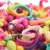 240 pcs Pop Talão Pérola Diy Blocos de Construção Acessórios de Jóias Arty Conjunto de Brinquedos para crianças 2016 Crianças Inteligência Educação Presente