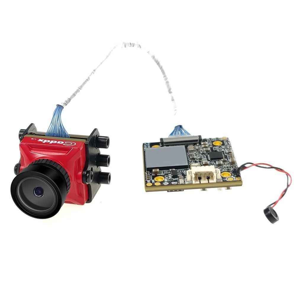 Image 5 - LeadingStar Caddx żółw V2 1080p 60fps FOV 155 stopni Super WDR Mini HD FPV OSD kamery Mic dla RC droneCzęści i akcesoria   -