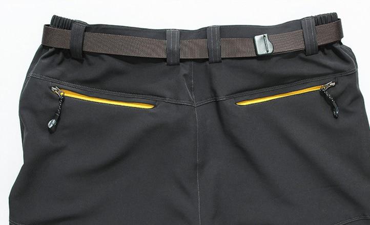 Plus Größe Männer Elastische Taille Quick Dry Outdoor - Camping und Wandern - Foto 4