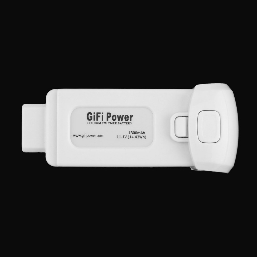 Gifi Power Lightweight Compact 11.1V 1300mAh 14.43Wh Replacement Lithium Polymer Battery for Yuneec Breeze