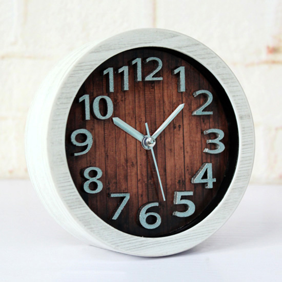 Creative Motorcycle Alarm Clock Desk Table Bedroom Living Room Home Decor Birthday Gift Presen