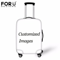 FORUDESIGNS Custom Luggage Protective Covers For 18 30 Inch Travel Trolley Case,Thick Waterproof Dust Proof Suitcase Rain Cover