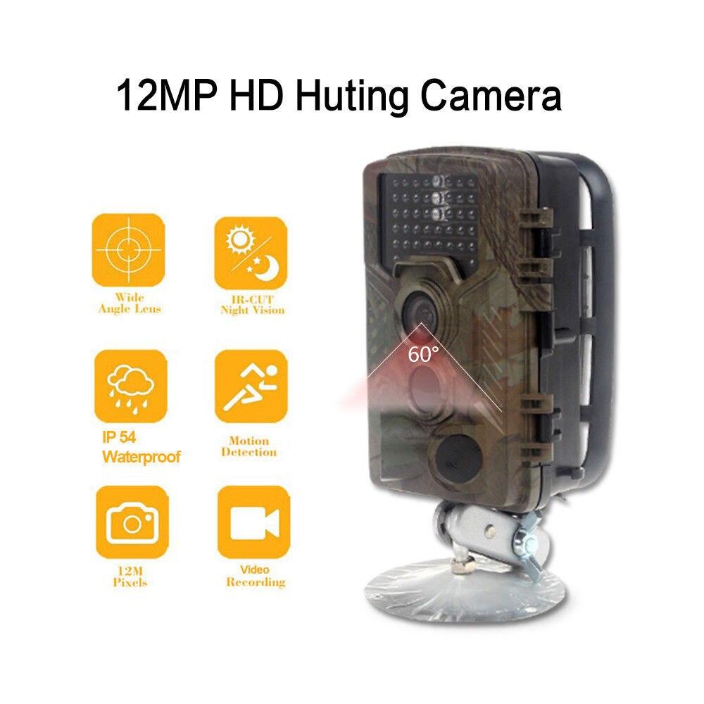 Free Shipping!H801W Low Glow 12MP Mini Infrared IR Digital Trail Game Hunting Camera 2.4 LCD free shipping wildlife hunting camera infrared video trail 12mp camera
