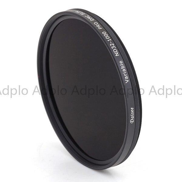 Daisee 95 MM VARIABLE ND 32-1000 PRO DMC filtre mince/filtre d'objectif de caméra/26 + 8 couches DMC revêtement anneau en laiton