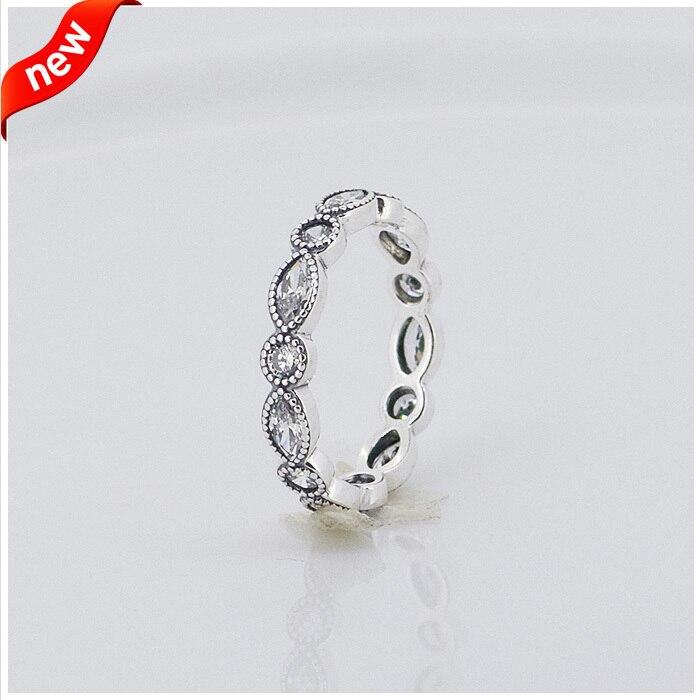 ∞Круглые и овальные Eternity Кольца с прозрачными Цирконий ...