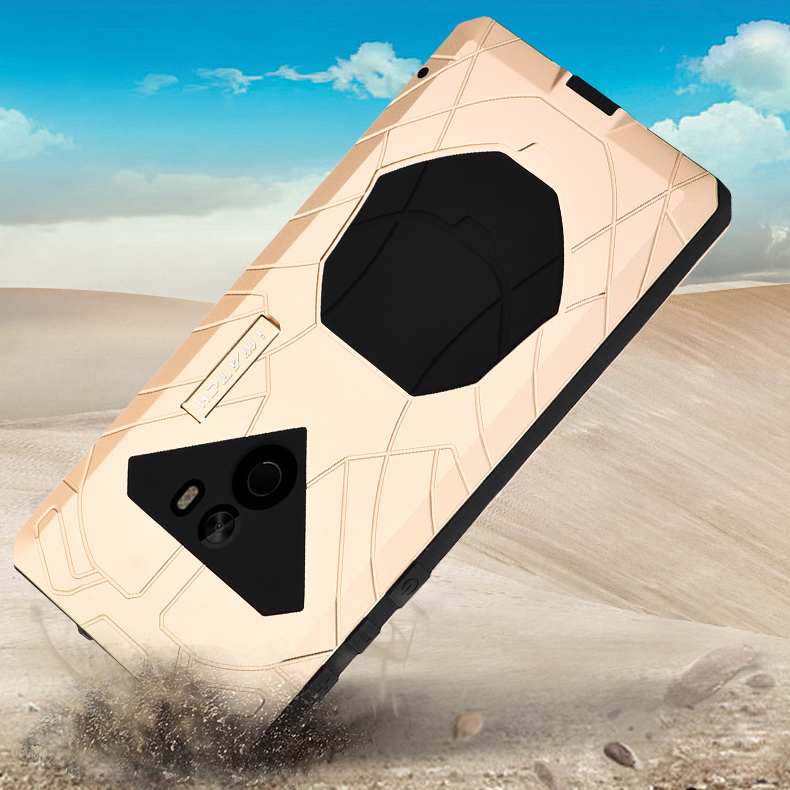 Luxury Outdoor Sports Daily Waterproof Shockproof Hard Metal Silicone Full Protection Phone Housing Case Cover For Xiaomi Mi Mix