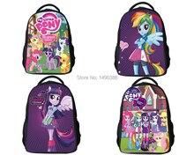 New Fashion Cartoon Backpacks for Teenagers Girls My Little Pony Backpack Kids School Bags Cute Boy