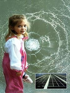 2mil 1.52x1 M Película de Seguridad/de Vidrio/seguridad/Transparencia Protector de Vidrio, casa/coche usado como secuirity película