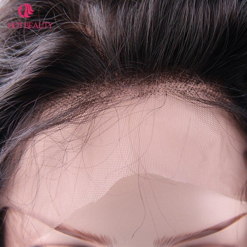 Гарячі волосся краси 360 мереживо - Людське волосся (чорне) - фото 5