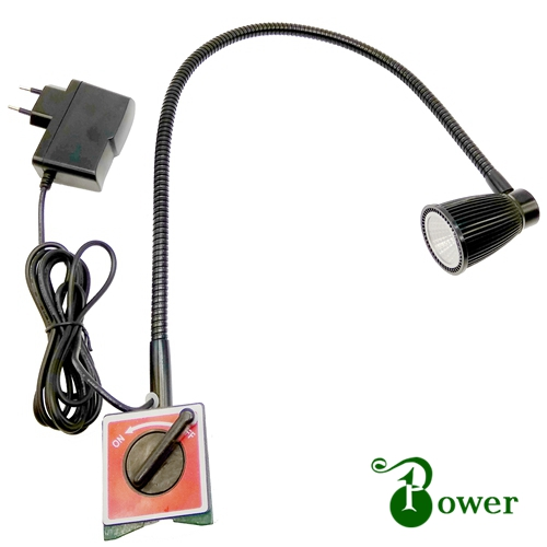 Éclairage Dans Lampe Base W Flexible Machine De 5 Magnétique Led Owm0v8Nn