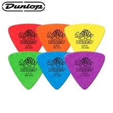 Dunlop Tortex Guitar Picks Bass Mediator Acoustic Electric Accessories Classic triangle Guitar Pick 0.5/0.6/0.73/0.88/1.0/1.14mm