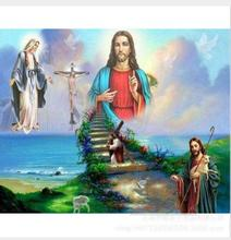 5d Diy Diamond Painting Religion Embroidery Jesus Full Inlay Home Decor