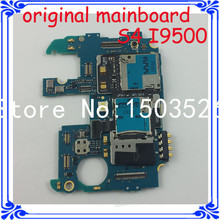 DHLfree shipping Europea version 16GB original motherboard for samsung Galaxy S4 i9500 16GB unlocked mainboard Andriod system